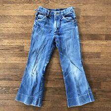 Wrangler Vintage Jeans Boys Hige Design Inspiration Wear Wash Pattern 25 X 24