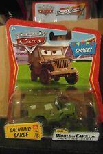 Disney Pixar Cars Saluting Sarge Chase Mattel 1.55 Scale BNIB