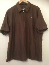 GENUINE AUTHENTIC NIKE TIGER WOODS  GOLF SHIRT ....
