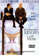 TUESDAYS WITH MORRIE - JACK LEMMON - NEW & SEALED DVD - FREE LOCAL POST