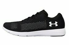 Mens Under Armour Rapid Black Running Shoes Textile Sports Trainers UK 7 New