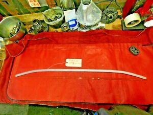 Austin Healey Sprite, Bugeye Sprite, MG Midget, Convertible Top Rear Bar, !!