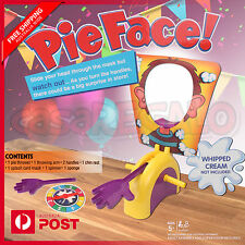 Kids Pie Face Game Exciting Fun Party Family Multi Player Gift Toy AU STOCK