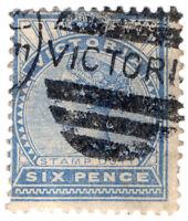 (I.B) Australia - Victoria Revenue : Stamp Duty 6d (postal)