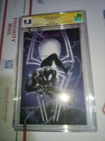 Amazing Spiderman 1 (Crain Cover B) Cgc Ss 9.8 Signed By Clayton Crain