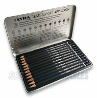 Lyra Fine Art 12pcs Pencil Set. Drawing/Sketching Pencils. 12 Degrees 6B > 4H.