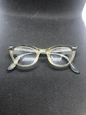 Vintage 50s B&L Ray-Ban Bausch & Lomb Cat Eye Eyeglasses Sunglasses 46-22 5 1/2