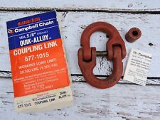 "5/8"" Campbell Chain Coupling Link Quik-Alloy Lifting Chain 20300 lbs 577-1015"