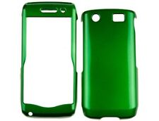 Hard Plastic Dark Green Phone Protector Case Cover for BlackBerry Pearl 3G 9105