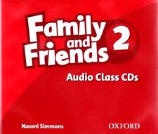 Oxford FAMILY AND FRIENDS 2 Audio Class CDs I Naomi Simmons @BRAND NEW@