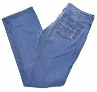 DIESEL Womens Jeans W30 L32 Blue Cotton Straight  GU10