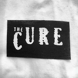 The Cure Sew On Patch 80s Goth Darkwave New Wave Robert Smith Gothic