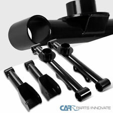 For 79-04 Mustang Black Carbon Rear Upper & Lower Tubular Control Arms Spec-D
