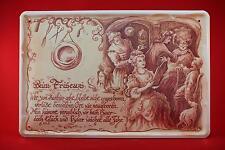 Blechschild - Friseur 20x30 cm Berufschild Blechschilder Barbier 68