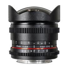 Rokinon 8mm T3.8 Fisheye Lens (Canon EF)