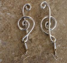 Neu Afrikanische Handgemachte Schmuck schöne maasai Ohrringe Aluminium G spirale