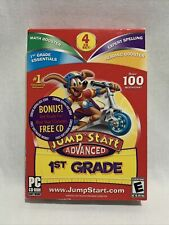 JumpStart 1st Grade Advanced Pc Cd Reading Spelling Math 1st Grade Nti Software