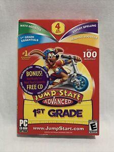 JumpStart 1st Grade Advanced PC CD Reading Spelling Math 1st Grade NTI Software