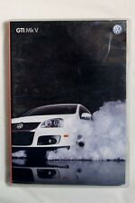 """VW Golf MkV GTI DVD and Booklet """"Make Friends with your Fast"""" Audi VWVortex"""