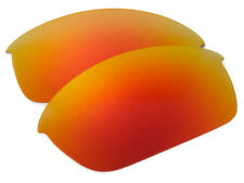 Hot Red Orange Polarized Replacement Sunglass Lenses for Oakley Flak Jacket