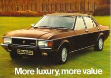 Ford Granada Ghia Mk I Car Jumbo Fridge Magnet