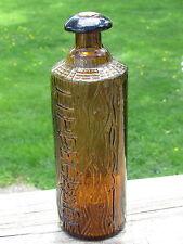 Nice TIPPECANOE H.H.WARNER & CO FIGURAL Log BITTERS Lighter COLOR Scarce VARIANT