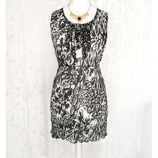 Ladies Beach Mini Dress 14 Tunic Summer Cover up Long Top Sheer Crinkle