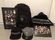 Monster Energy Merchandise- Jacket, Backpack, Snapback Hats, Photo & Model Book