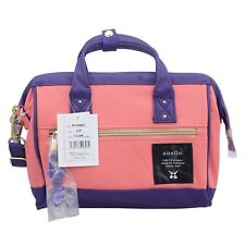 Anello Pink Purple (Small) Japan Women Shoulder Top-Handle Cross Body Bag