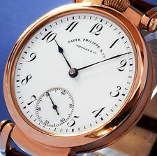 PATEK PHILIPPE & CO GENEVA SOLID 14K GOLD BEST QUALITY CHRONOMETER  - 1898