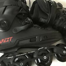 Powerslide Next Core 80 Skates Size 10.5-11.0 (44-45) Black --
