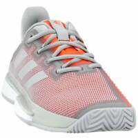 adidas Solematch Bounce Womens Tennis Sneakers Shoes Casual   - Grey