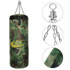 60/80/100CM Boxing Training MMA Punching Bag With Hook Oxford Canvas Hanging