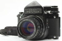 [Exc+5] Pentax 6x7 Mirror Up TTL Finder SMC T Takumar 105mm f2.4 Lens From JAPAN