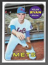 1969 TOPPS 533 NOLAN RYAN ROOKIE CARD HOF 1999 NEW YORK METS ANGELS ASTROS TEXAS