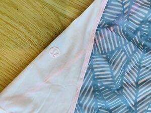 Lululemon Tank Size 4 Pink & Gray Sheer
