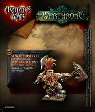 Avatars of War - Dwarf Berserker Hero - Warhammer - AOW01
