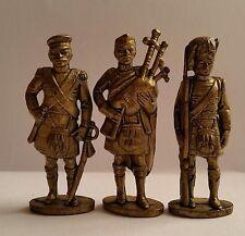 Soldatini Kinder Metalfiguren Serie Scozzesi 50 mm ottone