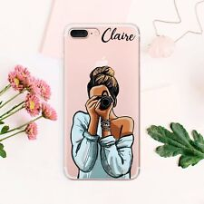 Girl iPhone 11 XS Max Cover Personalized iPhone X 7 8 Plus Case Camera iPhone 6s