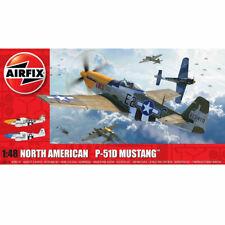AIRFIX A05138 Nth American P51-D Mustang Filletless Tail 1:48 Aircraft Model Kit