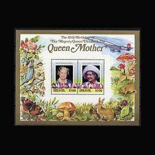 St Vincent Union Is, Sc #212, MNH, 1985, S/S, Queen Mother, Royalty, A5IHIAR6
