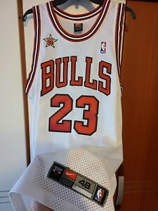 Michael Jordan 1997-98 NBA All Star Authentic Jersey Nike Size 48 Chicago Bulls