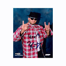 Konnan signed 8x10 Photo Wrestling WCW NWO