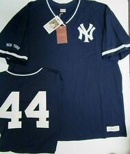 REGGIE JACKSON NEW YORK YANKEES Mitchell & Ness Throwback Jersey Shirt