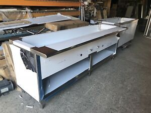 """96"""" Steam Table 7 Pans, All Stainless Steel - Natural Gas - NSF Approved"""