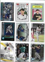 Jarred Kelenic Mariners 2018 2019 Rookie Lot of (9) Bowman Sterling & Chrome Mnt