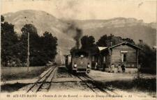 CPA Aix-Les-Bains Chemin de fer du Revard, Gare de Mouxy (682082)