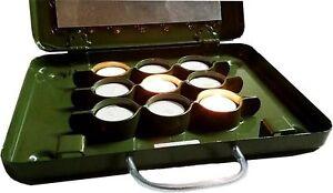 Kanzelheizung Ansitz-Heizung Teelichtheizung Jagd Heizung Teelichtofen Teelicht