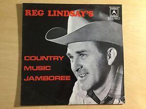 Vinyl LP - Reg Lindsay's Country Music Jamboree