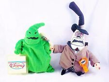 NEW DISNEY STORE BEANIE NIGHTMARE BEFORE CHRISTMAS OOGIE BOOGIE MAYOR WITH TAGS